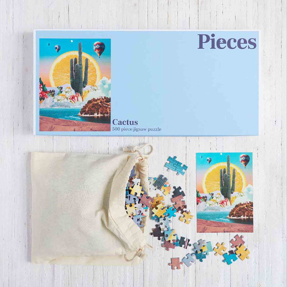 Pieces Cactus Jigsaw Puzzle