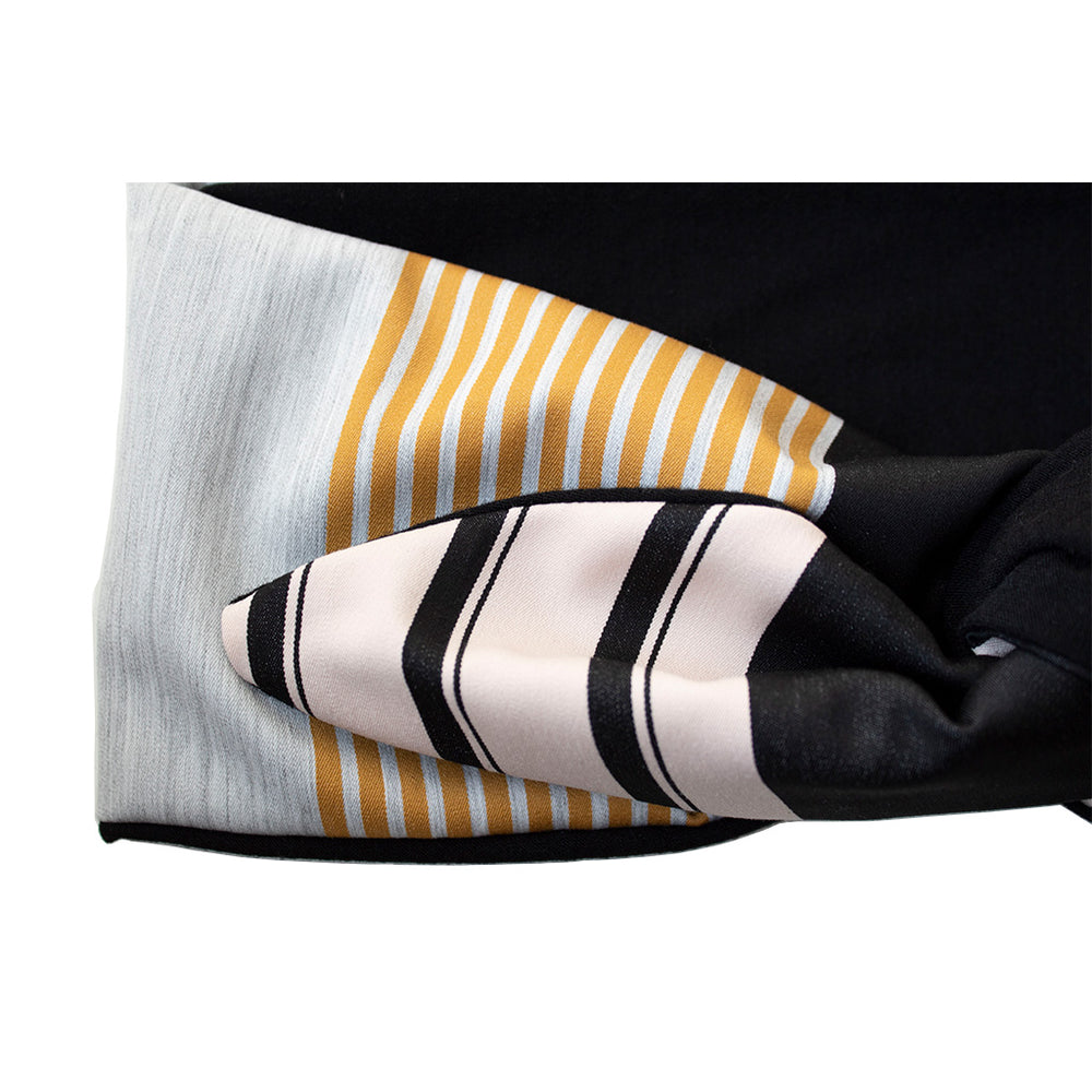 Load image into Gallery viewer, Stripe Patterned Headband Capri