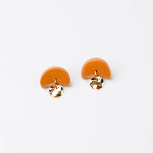 Pepper You Mini Annabelle Earrings in Orange