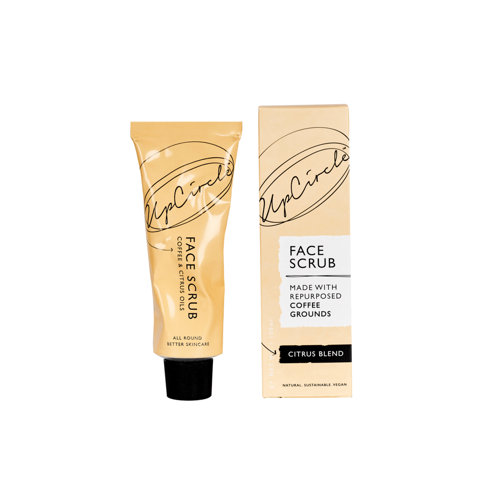 UpCircle Coffee Face Scrub Citrus Blend