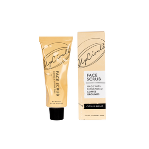 UpCircle Coffee Face Scrub Citrus Blend - Coffee and Cloth