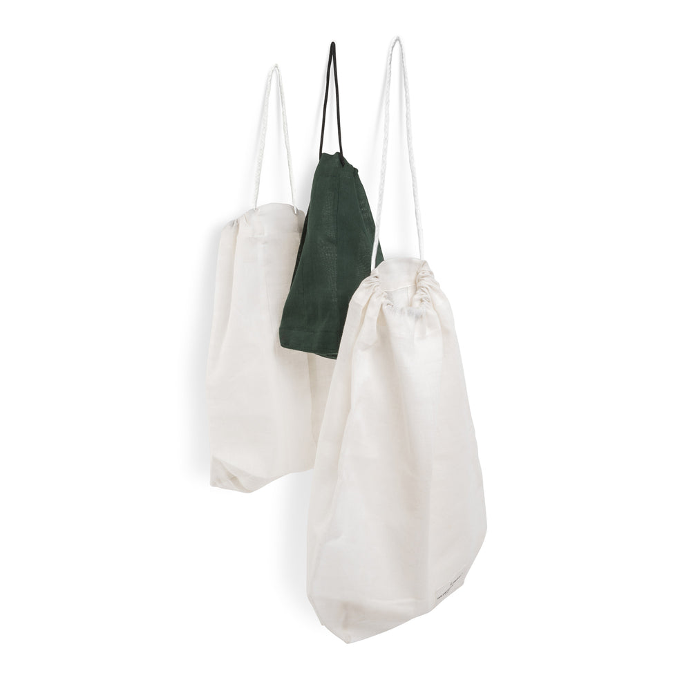 The Organic Company White Medium Food Bag - Coffee and Cloth