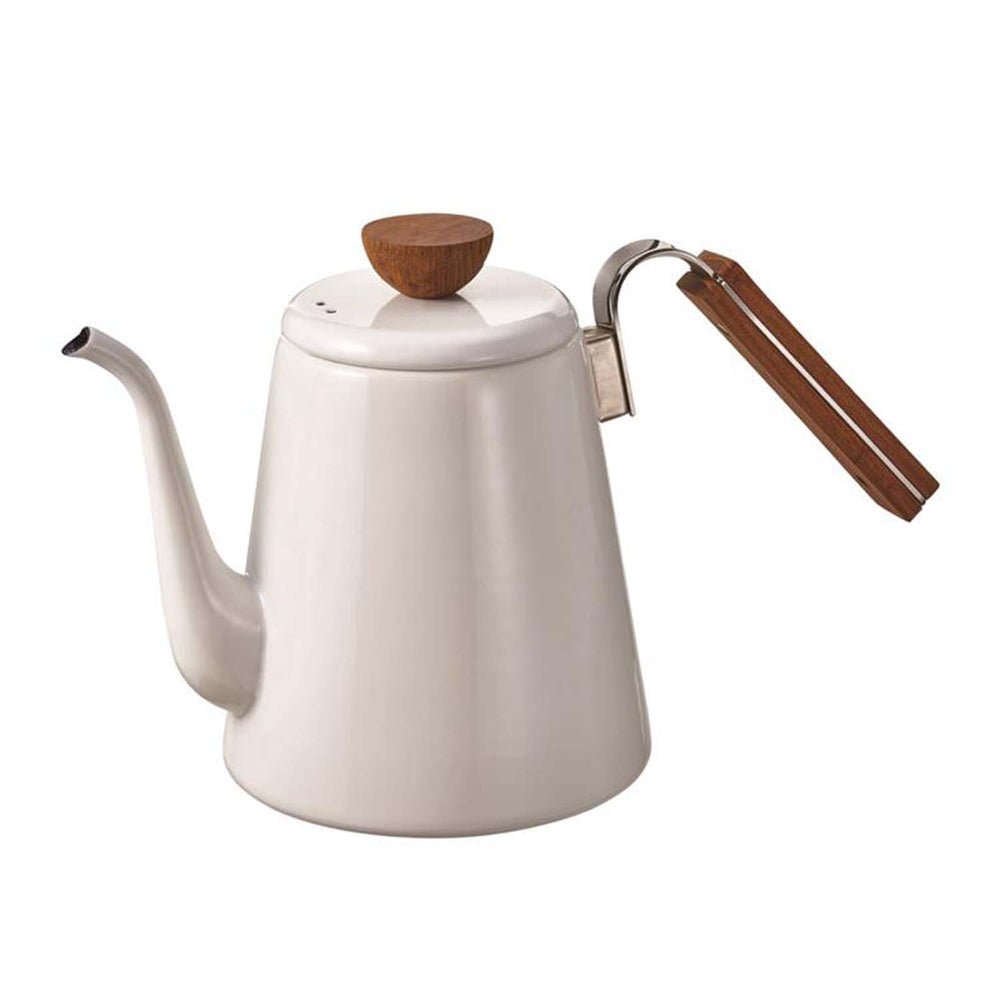 Load image into Gallery viewer, hario 800ml bona enamel white kettle
