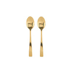House Doctor Golden Teaspoon- Set Of 2