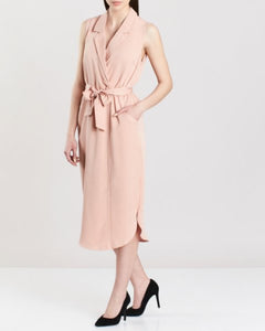 ICHI Mahogany Rose Dress - Coffee and Cloth