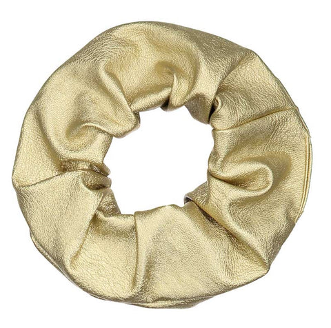 Atelier Des Femmes Gold Scrunchie - Coffee and Cloth
