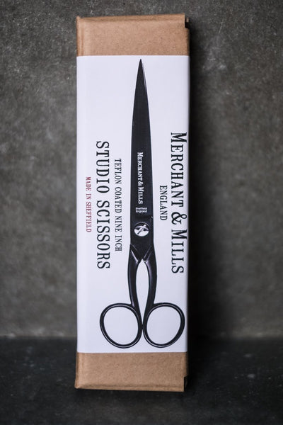 Merchant & Mills Matt Black Studio 9″ Scissors