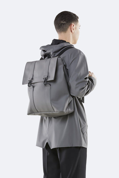 Rains Charcoal Msn Bag - Coffee and Cloth