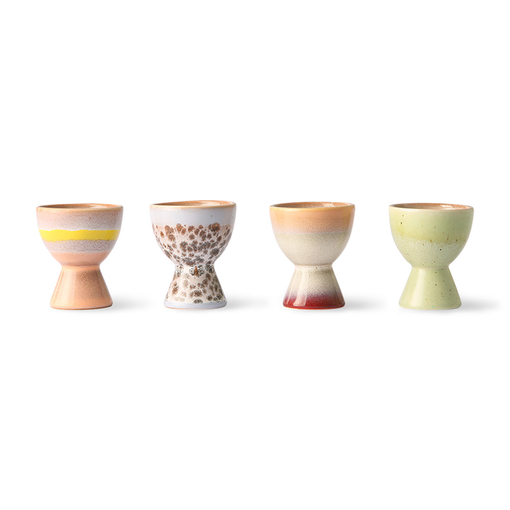 Multicolour Ceramic Egg Cups