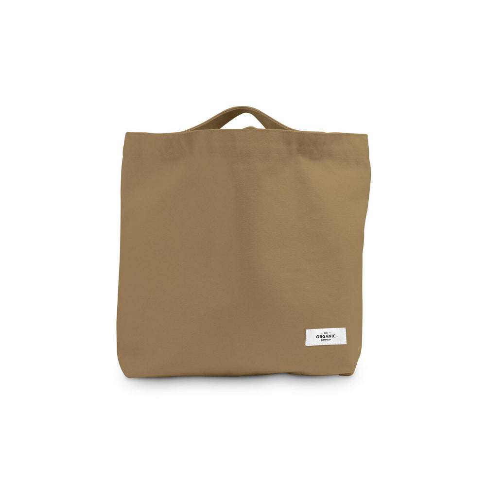 The Organic Company Shopping Bag- Khaki