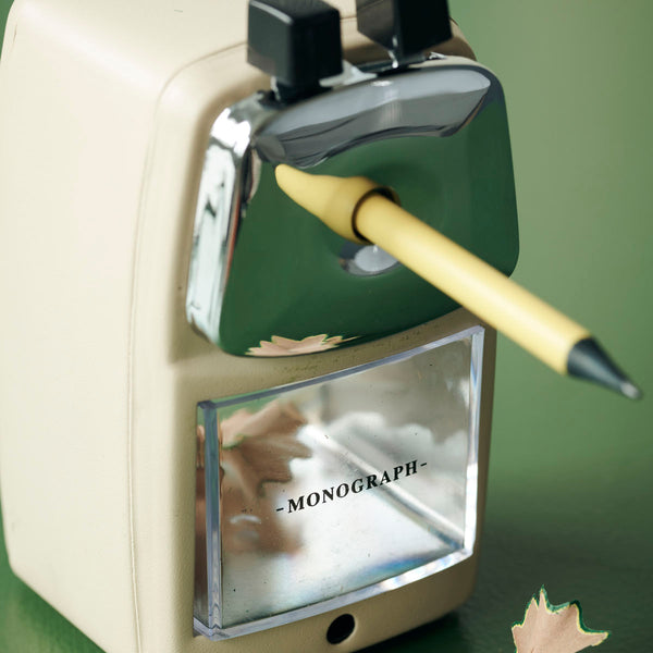 Coming Soon! Retro Ecru Pencil Sharpener