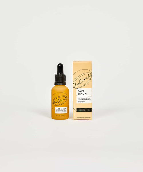 Up Circle Organic Face Serum With Coffee Oil - Coffee and Cloth