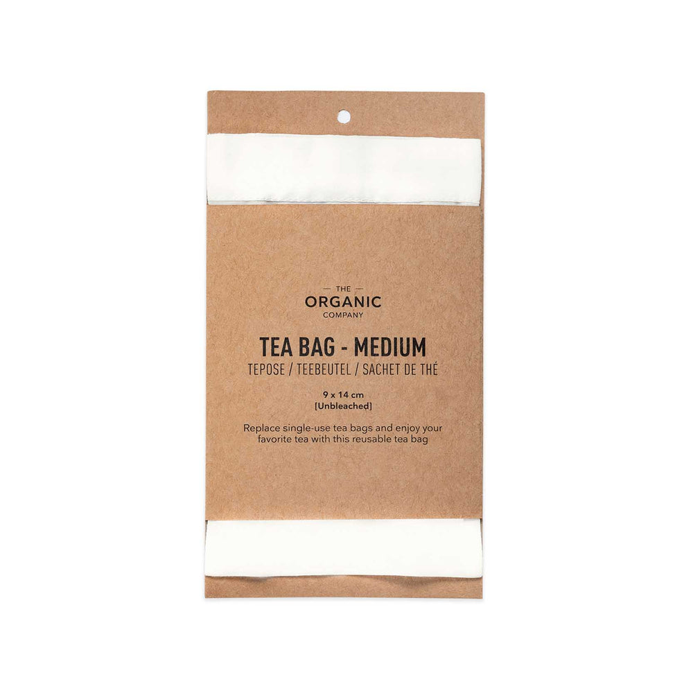 The Organic Company Reusable Tea Bag- Medium