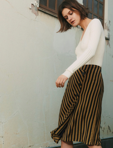 mbyM Aleena Skirt - Coffee and Cloth