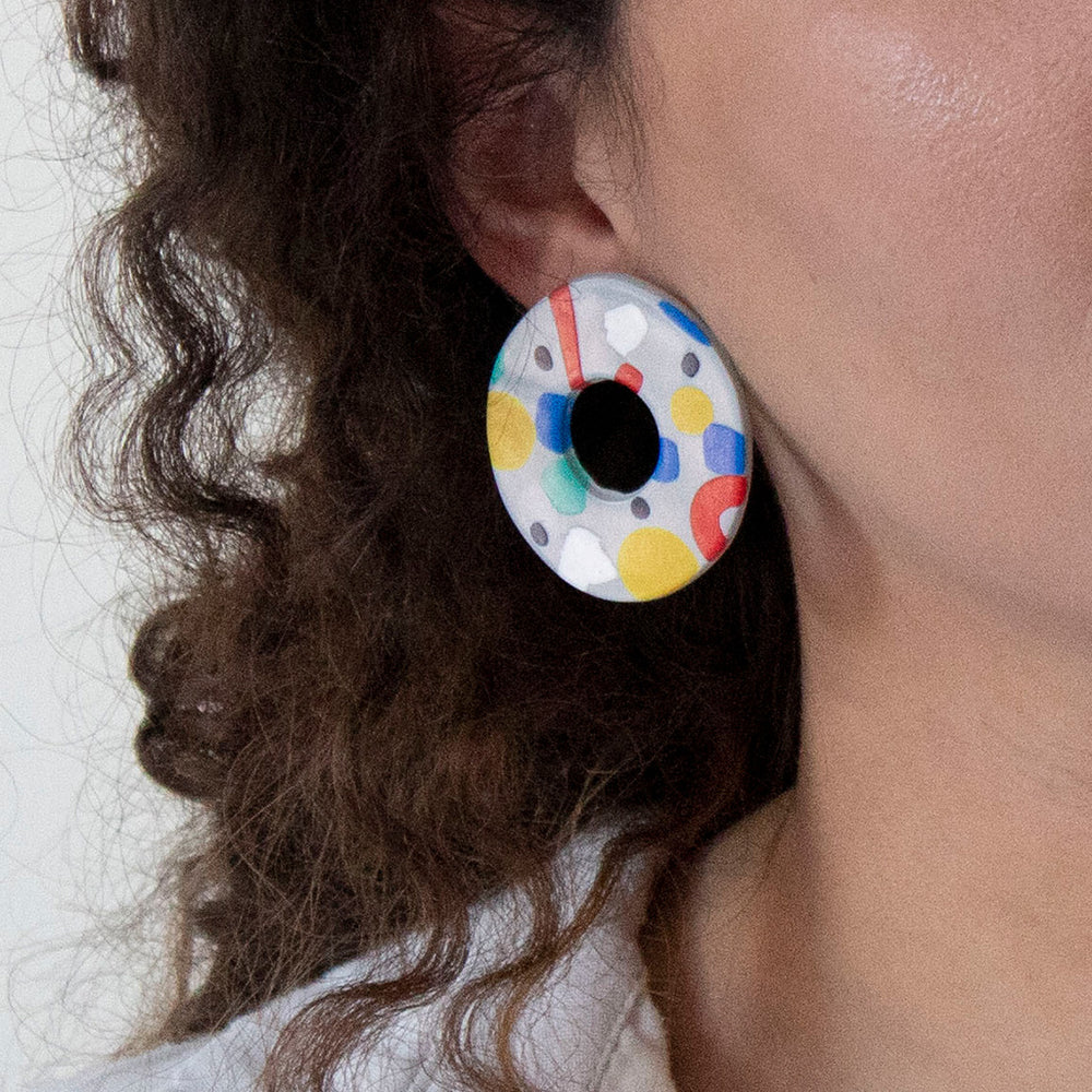 Azadeh Multicolour Earrings Ida