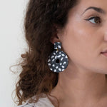 Azadeh Earrings Katherine - Coffee  & Cloth UK