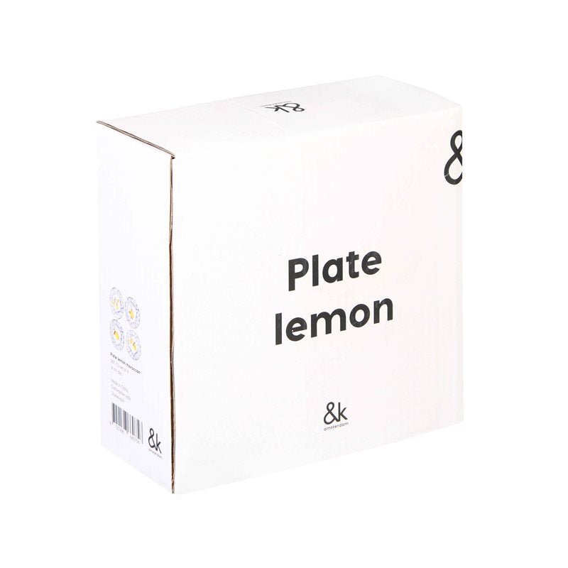 image of &klevering lemon plate outer box