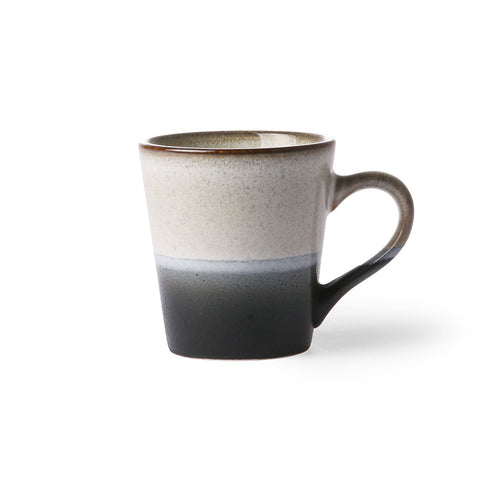 HK Living Ceramic 70's Espresso Rock Mug - Coffee and Cloth