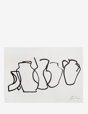 James Wilson Ceramic Collection Print A4 - Coffee and Cloth
