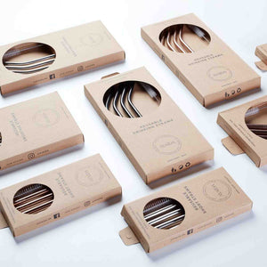 ayaida reusable drinking straws packaging