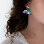 Azadeh Multicolour Earrings Ida Drop