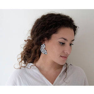 Azadeh Dotted Earrings Clara