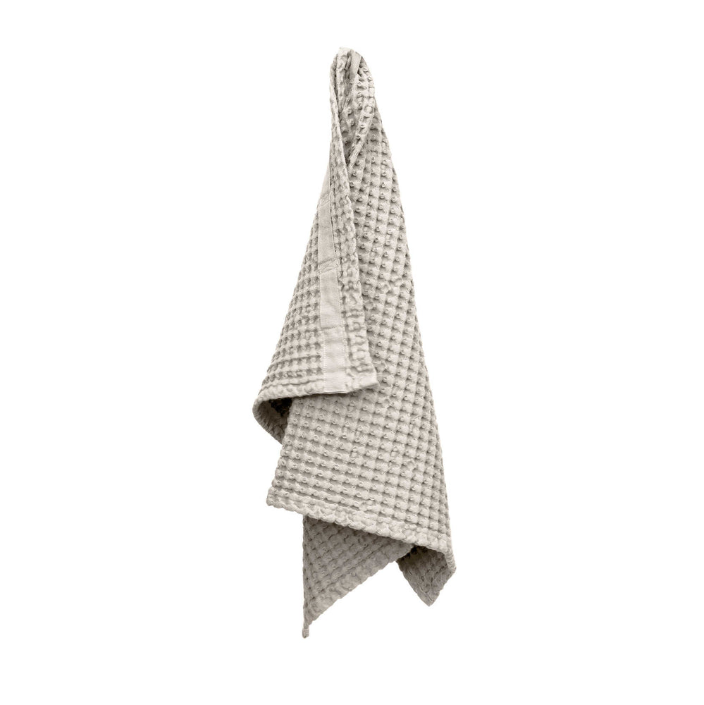 Load image into Gallery viewer, The Organic Company Big Waffle Hand Towel- Stone