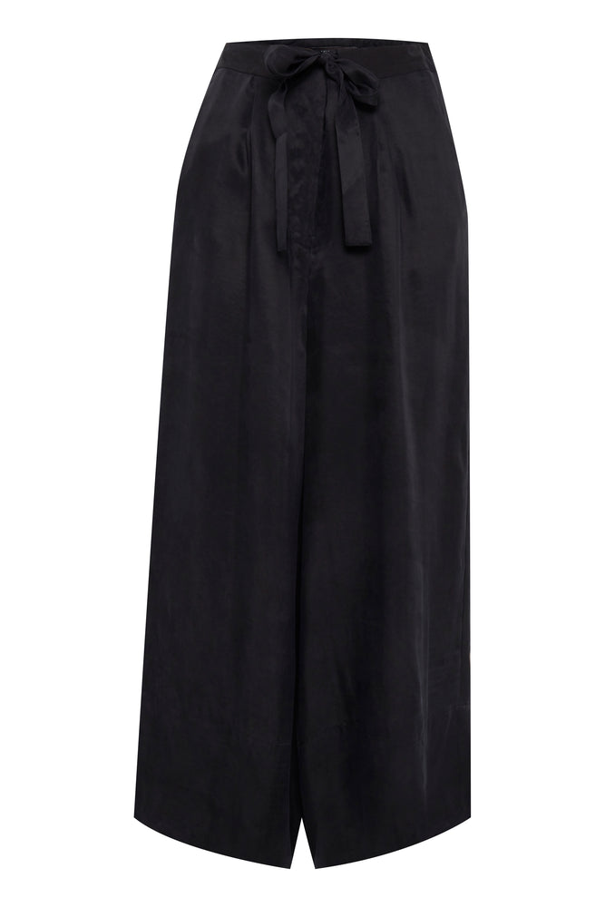 Load image into Gallery viewer, ICHI Ihadana Cropped Culottes - Coffee and Cloth