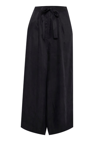 ICHI Ihadana Cropped Culottes - Coffee and Cloth
