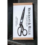 black 8 inches tailor scissors in box