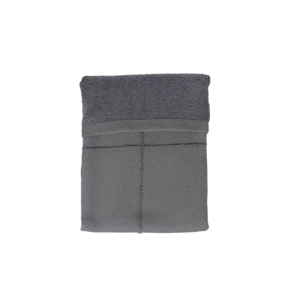 The Organic Company Calm Hand Towel- Dark Grey