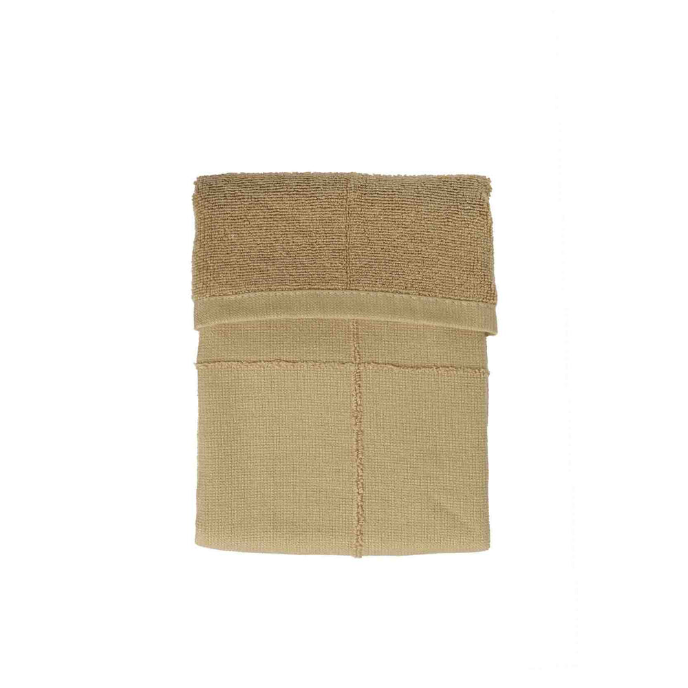 Load image into Gallery viewer, The Organic Company Calm Hand Towel- Khaki