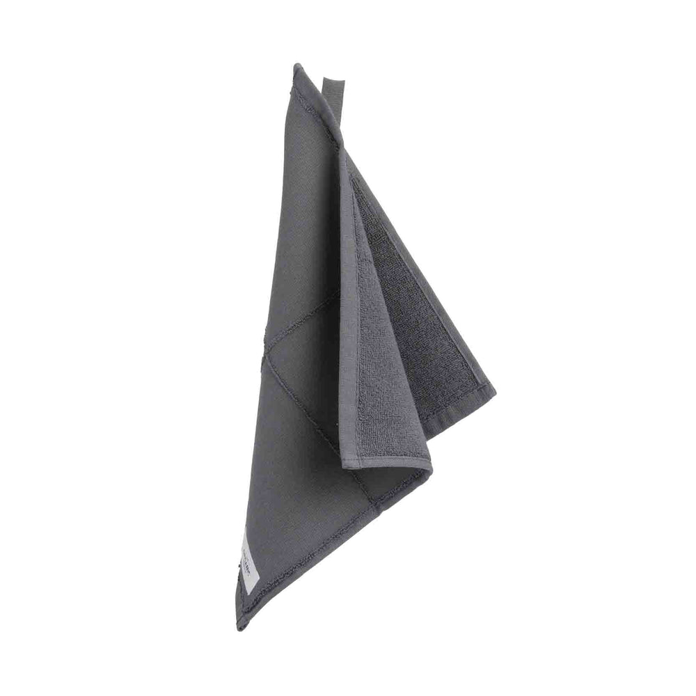 Load image into Gallery viewer, The Organic Company Calm Wash Cloth- Dark Grey