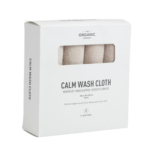 Load image into Gallery viewer, The Organic Company Calm Wash Cloth- Stone