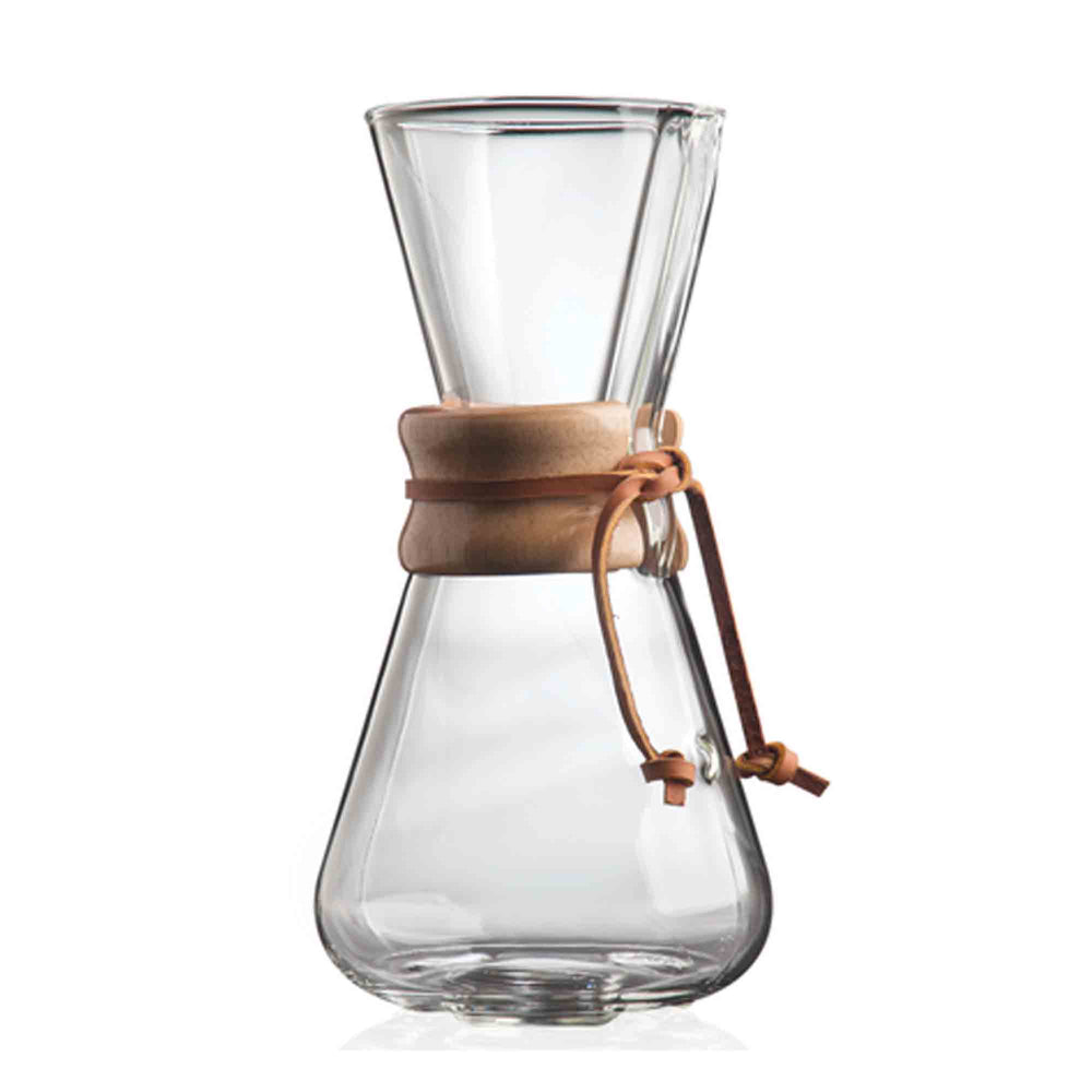 chemex 1-3 glass coffeemaker