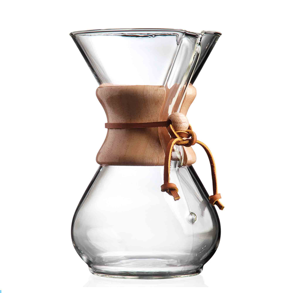 chemex 3-6 wooden collar coffeemaker