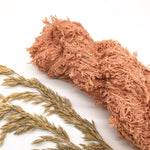Dusky Peach Recycled Cotton Frizz Ribbon