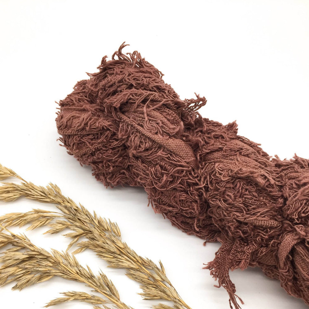 Hickory Recycled Cotton Frizz Ribbon