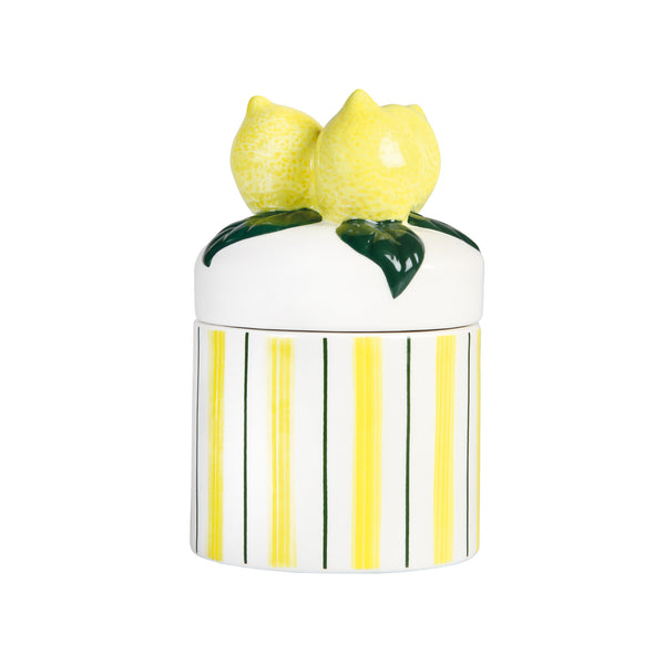 &Klevering lemon jar