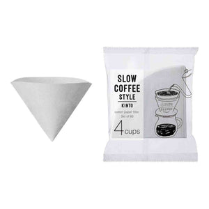 kinto cotton white paper filters 04 cups
