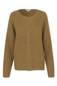 mbyM Ellianne Butternut Melange Knitted Jumper
