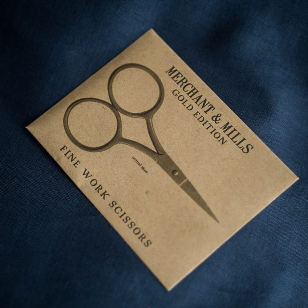 Merchant & Mills Gold Fine Work Scissors