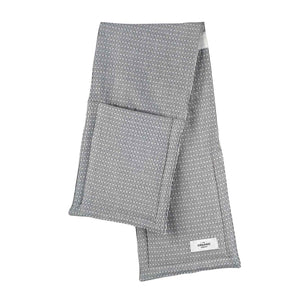 The Organic Company Oven Glove- Light Morning Grey