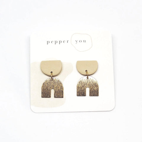 Pepper You Arc Drop Earrings