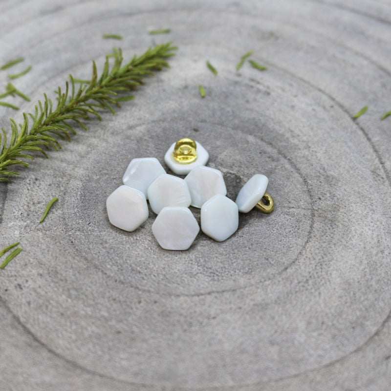Light Sage Quartz Buttons