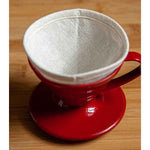 reusable v60 filter with plastic Hario v60