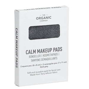 Load image into Gallery viewer, The Organic Company Calm Reusable Makeup Pad- Grey