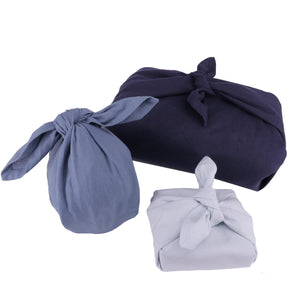 The Organic Company Gift Wrapping Set- Ocean