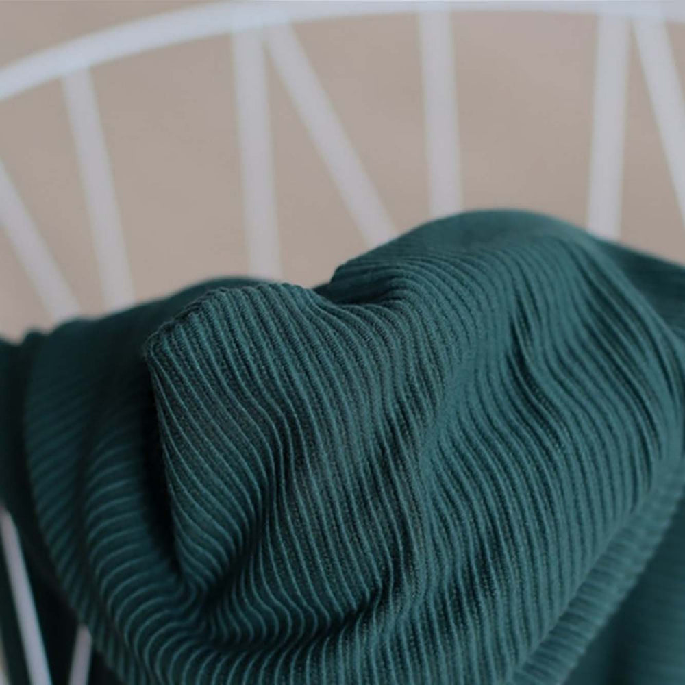 Load image into Gallery viewer, Ottoman Knit- Deep Green