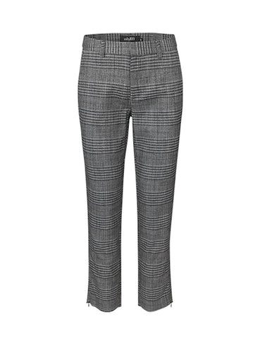 mbyM Check Trousers - Coffee and Cloth